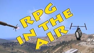 RPG is in the air (ASR AI3 mod test)