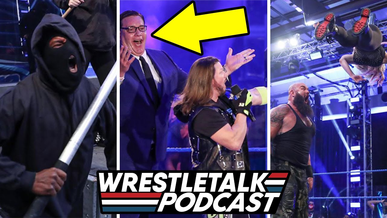 Download Former TNA Character Debuts With AJ Styles! WWE SmackDown, Aug 14, 2020 Review | WrestleTalk Podcast