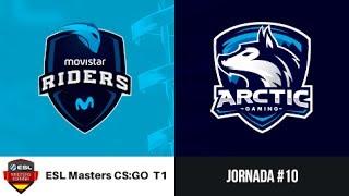Movistar Riders vs. Arctic Gaming [Mirage] ESL Masters CS:GO Temporada 1 - Jornada #10