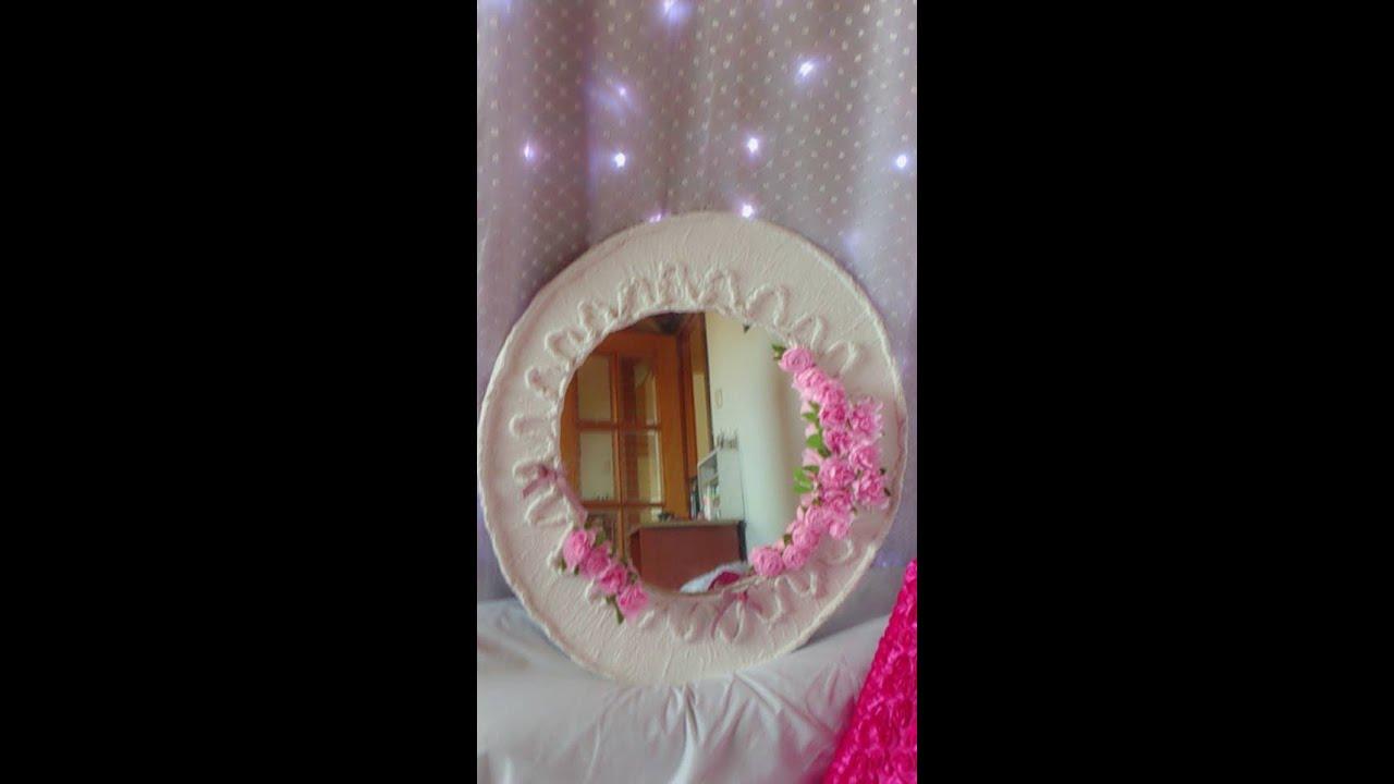 Espejo decorado youtube for Utilisima espejos decorados