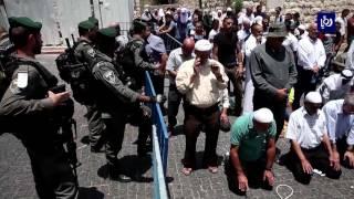 غضب فلسطيني نصرة للأقصى