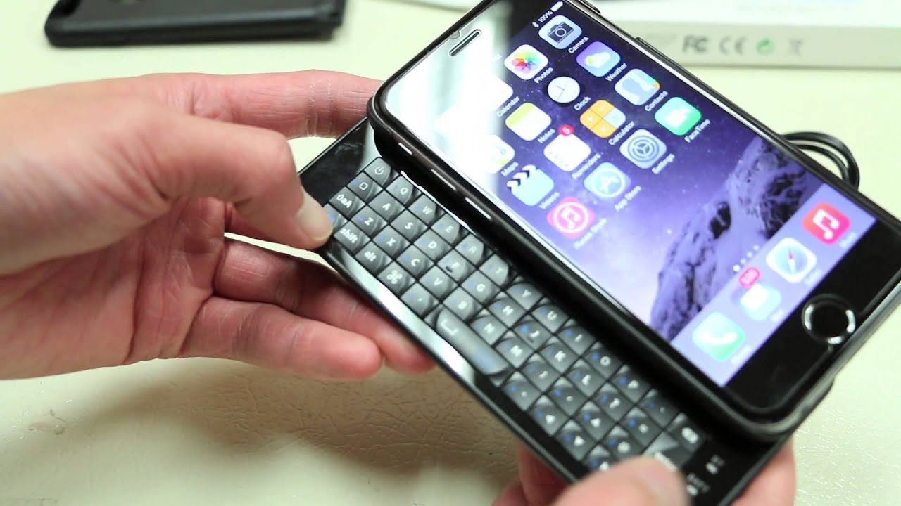 Bluetooth keyboard for iphone 6