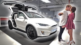 I BOUGHT A TESLA FOR OUR FAMILY (WIFE SURPRISE) thumbnail