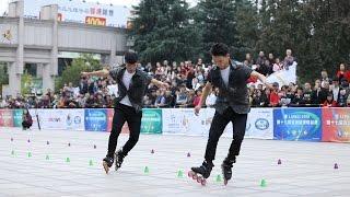 张颢 叶浩钦 2016 Asian Championship Pair Slalom 1st , Zhang Hao , Ye Hao Qin