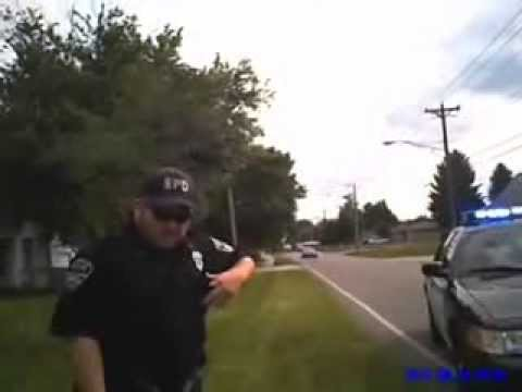 Camera saves another black man from police race hate.