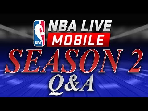 EARLY LOOK AT NBA LIVE MOBILE 18!!! ANSWERING ALL YOUR QUESTIONS ONLIVESTREAM!!!