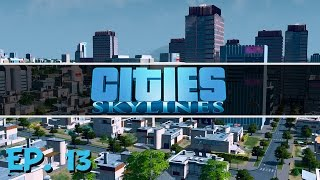 Cities Skylines - Ep. 13 - Cargo Ships and Trains! - Let's Play