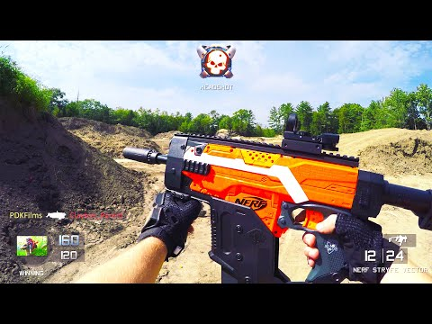 Nerf Gun Game: Call of Duty First Person Shooter