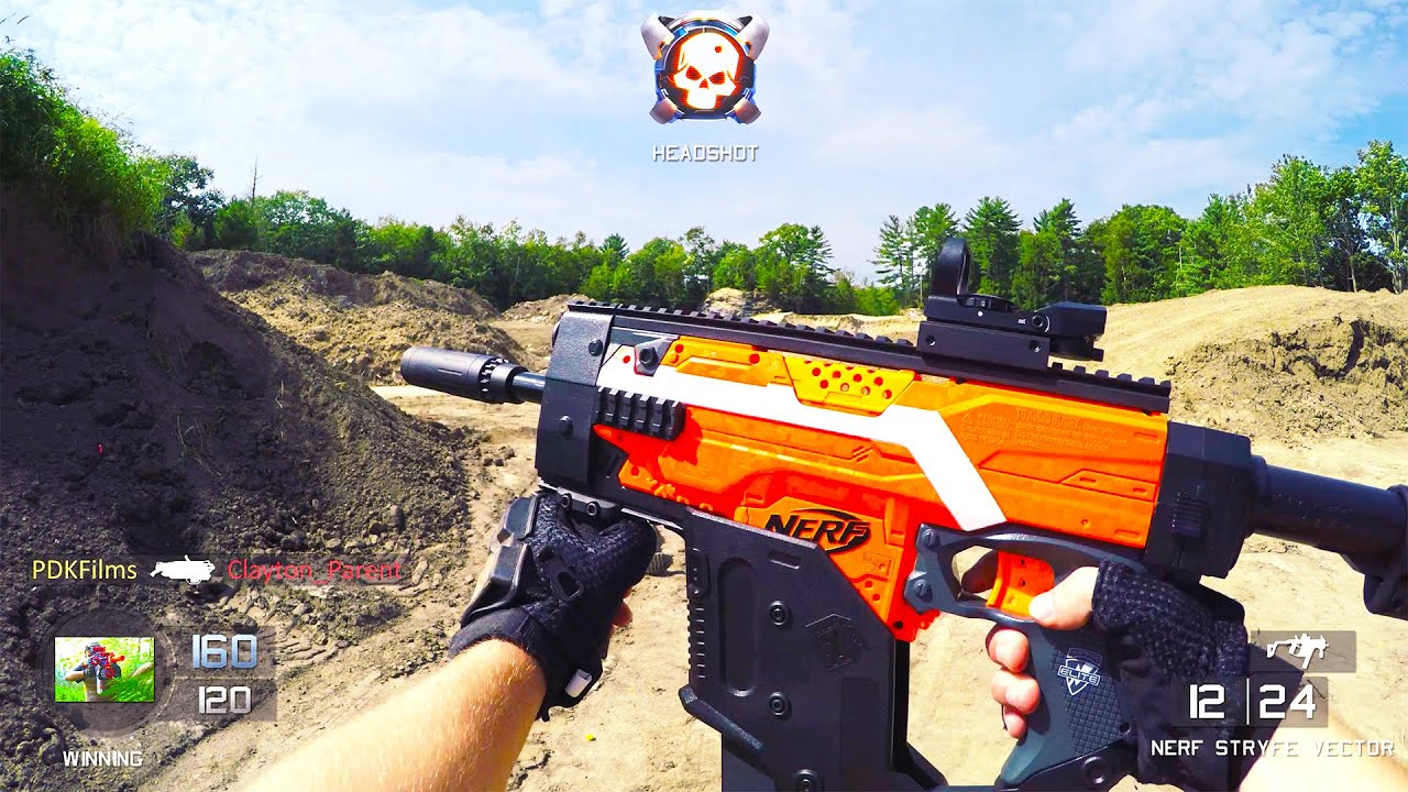 Nerf Gun Game 2  First Person Shooter  Call of Duty    YouTube
