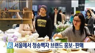 [안동MBC뉴스]서울에서 청송백자 브랜드 홍보