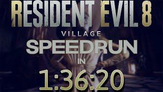 Resident Evil 8 Village Speedrun (1:36:20) - Full Game