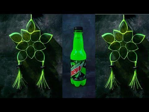 DIY/Star Design#4/Christmas Decor/Lantern/Parol Making using Recycled Plastic Bottles.