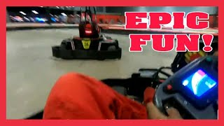 EPIC GO KARTING EVENT WITH YOUTUBERS! thumbnail