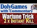 Wartune Guide - Trick for Titan Temple with 2x Instant Kill