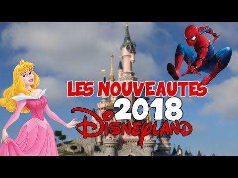 LES NOUVEAUTÉS DE DISNEYLAND PARIS EN 2018