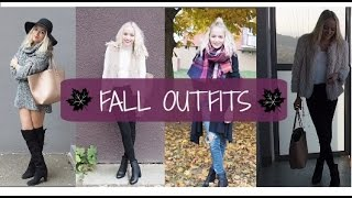 FALL OUTFITS 2015/ Lookbook