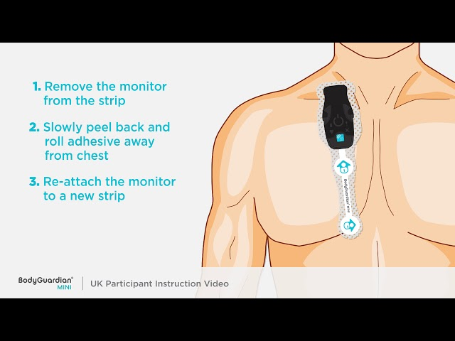 UK Biobank Body Guardian Mini Heart Monitor instruction video
