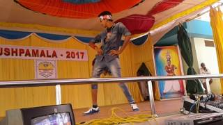 VICKY HIP HOPERS egs pillay college solo dance performance in avvm pushpam college
