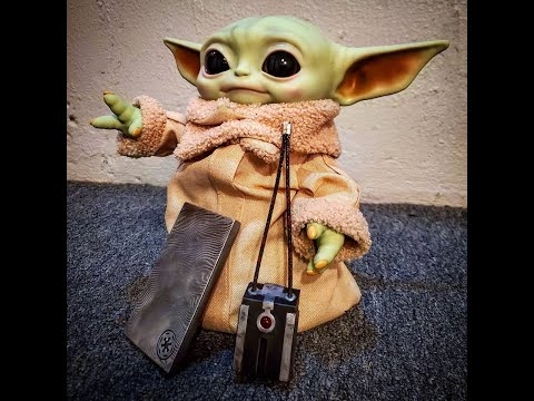 Baby Yoda Doll Review And Easy Mod For Posability, The Child By Disney And Mattel Toys
