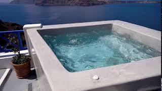 Top Caldera Views in Santorini from Esperas Hotel