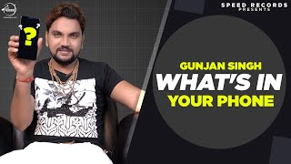 #Gunjan Singh | EXCLUSIVE Interview | What's In Your Phone | Speed Records Bhojpuri