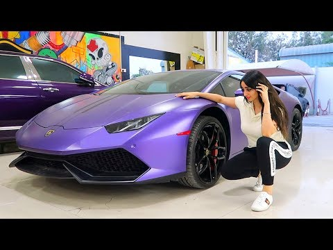 Goodbye Purple Lamborghini :(