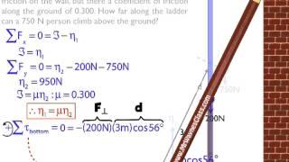 Torque Ladder Example Solution