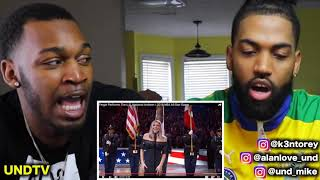 FERGIE PERFORMS THE US NATIONAL ANTHEM / 2018 NBA ALL-STAR GAME [REACTION]