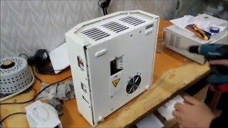 видео Однофазный стабилизатор напряжения Энерготех Infinity 5000