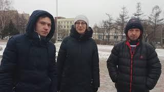 Подготовка к празднику в Уссурийске.
