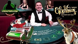 Live Blackjack Dealer vs £2,000 Real Money Play at Mr Green Online Casino
