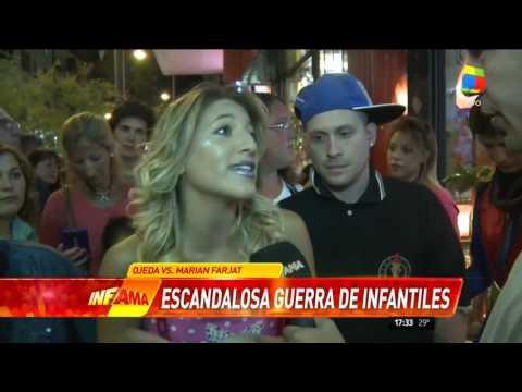 Terrible escándalo entre Marian Farjat y Verónica Ojeda en Mar del Plata