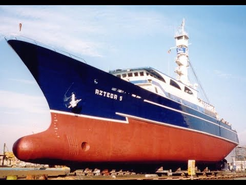 Azteca 5 - Pesca de atún - Flota mexicana