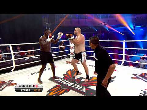 Daniel Sam vs Steven Banks Full Fight (Muay Thai) - Phoenix 3 London