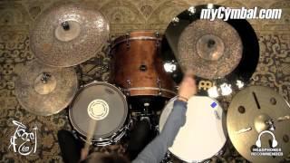 "Meinl 22"" Byzance Extra Dry Dual Crash Ride Cymbal - Anika Nilles - 2294g (B22DUCR-1111615V)"