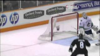 Torrey Mitchell amazing goal against vancouver canucks march 10, 2011
