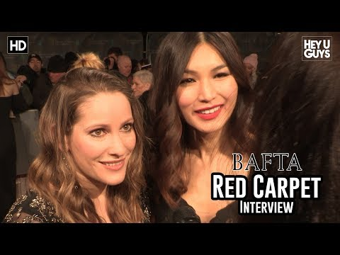 Gemma Chan & Laura Bates - BAFTA Awards 2018 Red Carpet