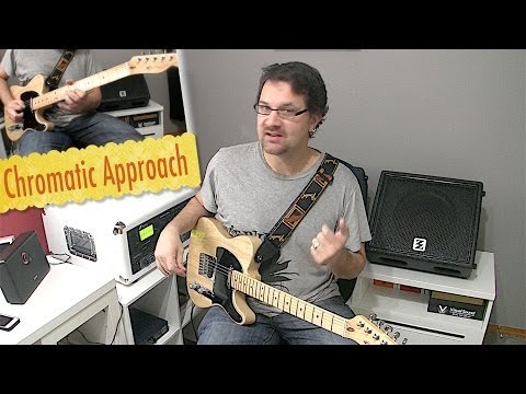 Chromatic Approach Blues Guitar Lesson
