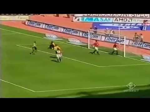 Serie a 2000-2001, day 34 roma - parma 3-1 (totti, montella, batistuta, di vaio)