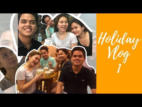 Holiday Vlog Episode 1: Christmas Buying + Late night foodtrip in Cebu | Kim Racoma