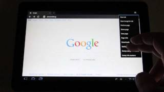 Enable Desktop Web Browsing For Android Honeycomb