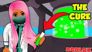 WE ENDED QUARANTINE BY FINDING THE CURE  | ROBLOX QUARANTINE STORY