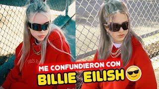 24 HORAS siendo BILLIE EILISH 🤩🔥  | Leyla Star 💫