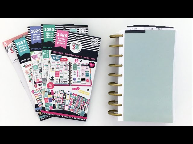 MAMBI Happy Planner Sticker Book Setup
