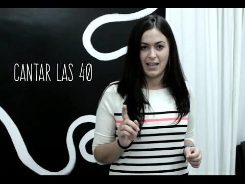 Expresiones en español: cantar las cuarenta.