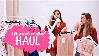 Haul graduaciones y eventos || Let´s graduate collection 2018