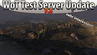 World of Tanks - Test Server Update 9.8 - Karelia - Veränderungen [HD|Deutsch]