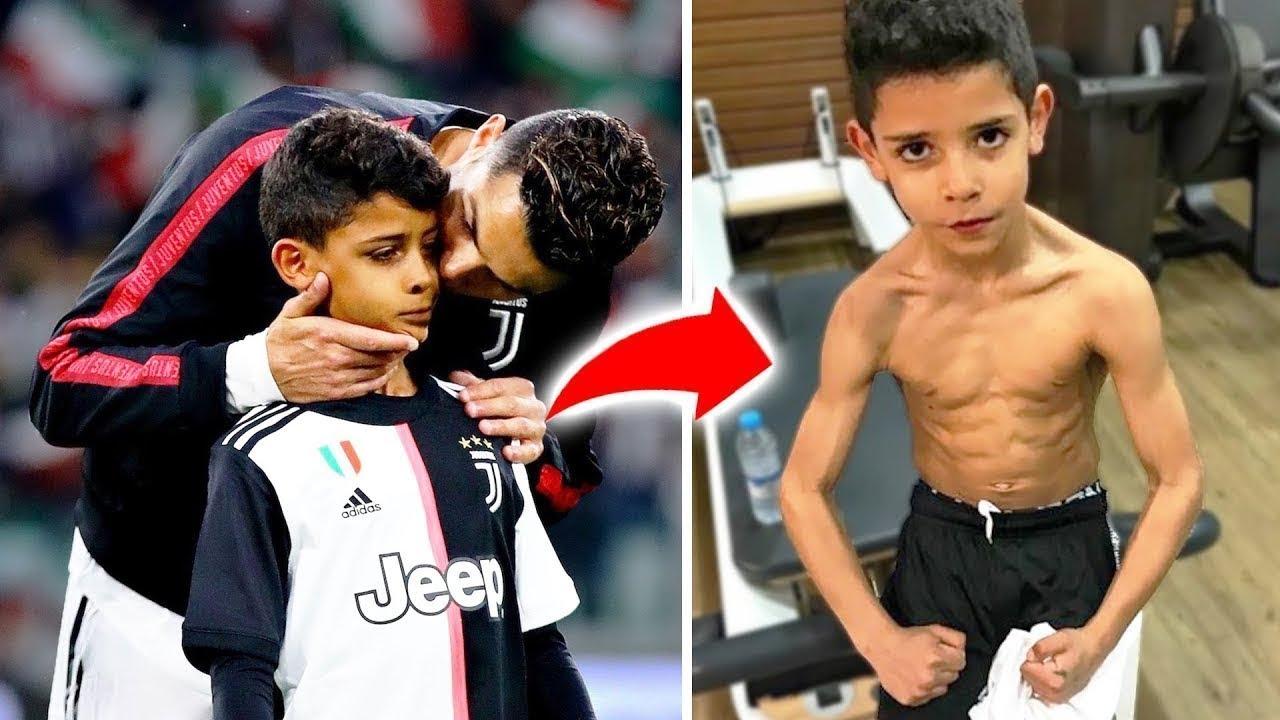 قواعد صارمة جعلها  كريستيانو رونالدو لابنه و يجب عليه إتباعها !!