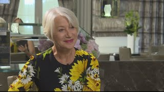 Actress Helen Mirren on TV honours and tackling sexism