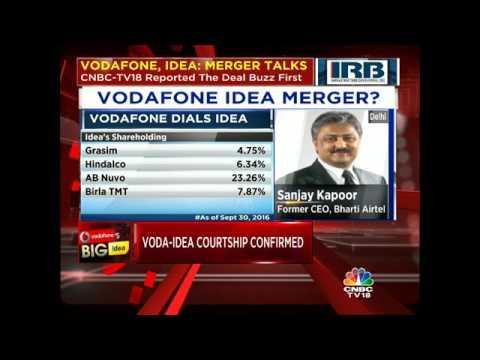 VODAFONE, IDEA: MERGER TALKS. CNBC-TV18 Reported The Deal Buzz First